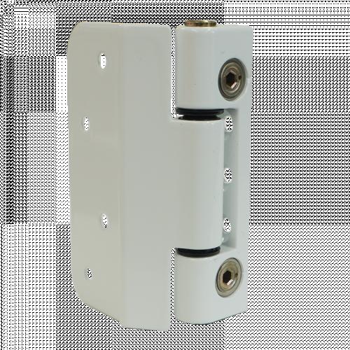 Composite Door Hinge Adjustable FRAME - White Product Code 8892622