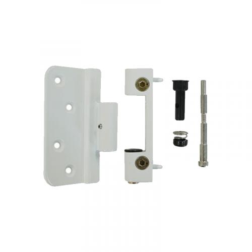 Composite Door Hinge Adjustable - White