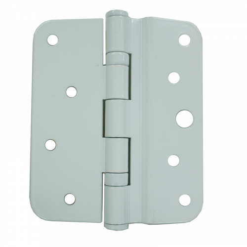 White uPVC Hinge Plate - 7.5mm - For XL Crimebeater Locks