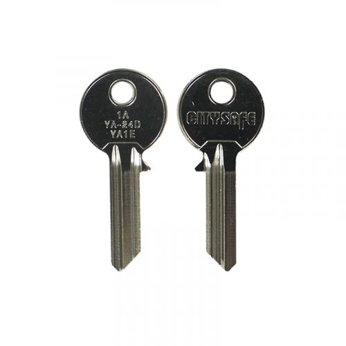 STEEL Custom Keyblank - HD Ref = 1A - Silca Ref = YA1E - JMA Ref = 1A