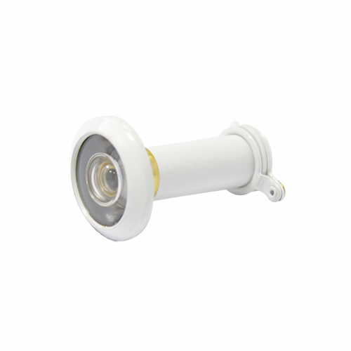 Wide Angled Door Viewer 35-55mm In White - SBD Approved