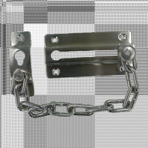 Sliding Door Chain - Satin Silver