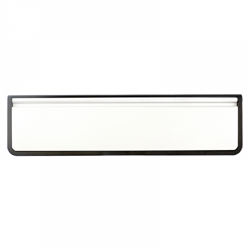 "Doormaster Letterplate 12"" 40/80 White Flap"