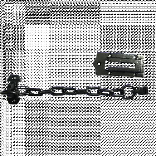 Black Iron Door Chain