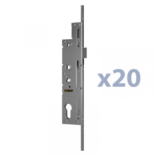 20 Auto Locks with Keep, 20 x 3 piece Keep Sets (no buckets), 80 Cranked Hinges