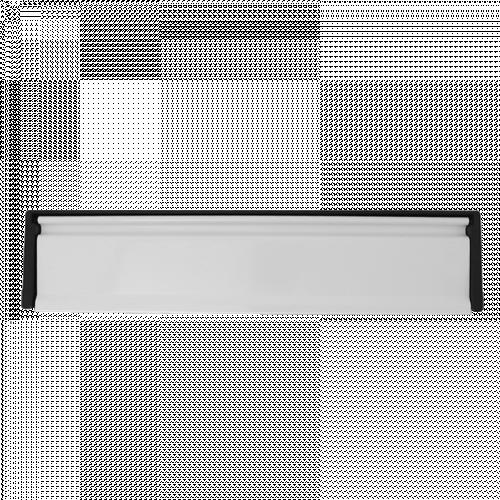 """Framemaster Letterplate 12"""" 40/80 White Flap"""