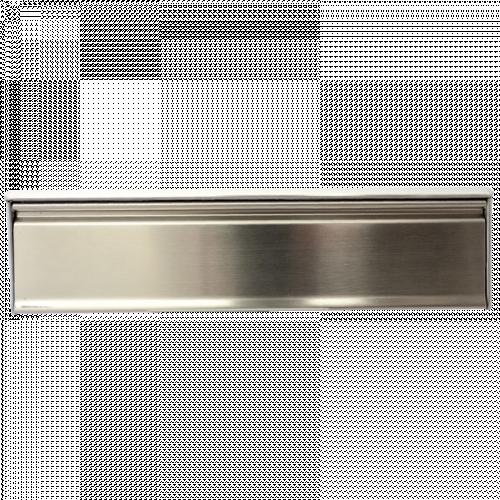 Framemaster 40/80mm Satin SS316 Frame with Satin SS316 Flap