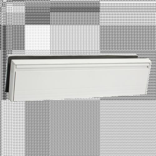 Aluminium Framemaster 40/80 - White Power coat flap and frame