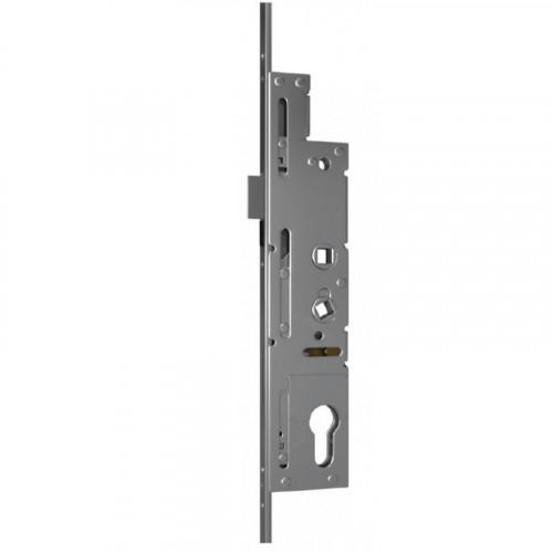 Crimebeater Lock - Dual Spindle | 45mm Backset | 243mm Backplate | 2 Hooks | 1 Bolt