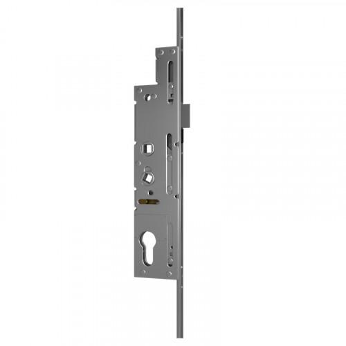 Crimebeater Lock - Dual Spindle | 35mm Backset | 243mm Backplate | 2 Hooks | 1 Bolt