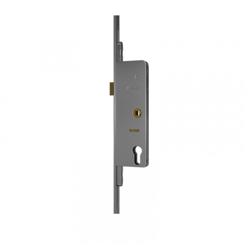 Latch Lock - 55 Backset 72mm Centres - 24mm Radius Ends SS Faceplate