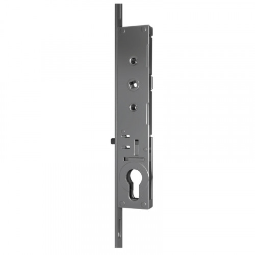 Patio Lock - 7mm Spindle | 20mm Backset | 219mm Backplate | 8 Hooks (Opposing)