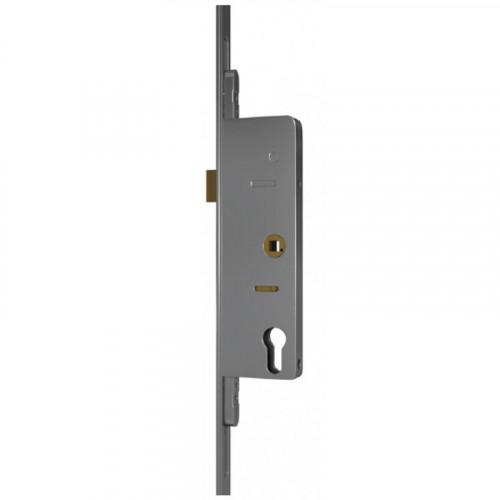 SL16 Lock - Split Spindle | 55mm Backset | 240mm Backplate | 0 Hooks | 3 Bolts