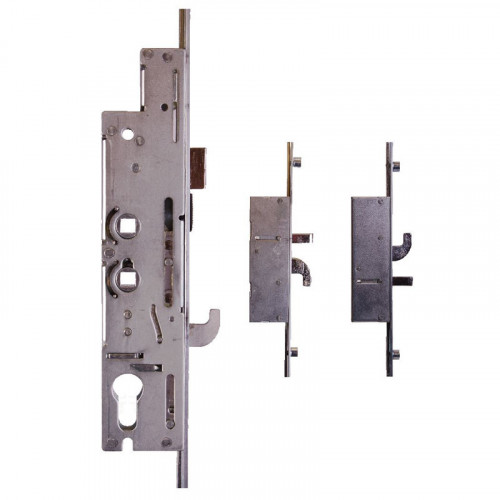 XL Lock - 518mm Centres   Dual Spindle   35mm Backset   243mm Backplate   3 Hooks   2 Rollers