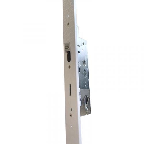 XL Crimebeater Lock - Dual Spindle   35mm Backset   243mm Backplate   3 Hooks (Opposing) - 7mm