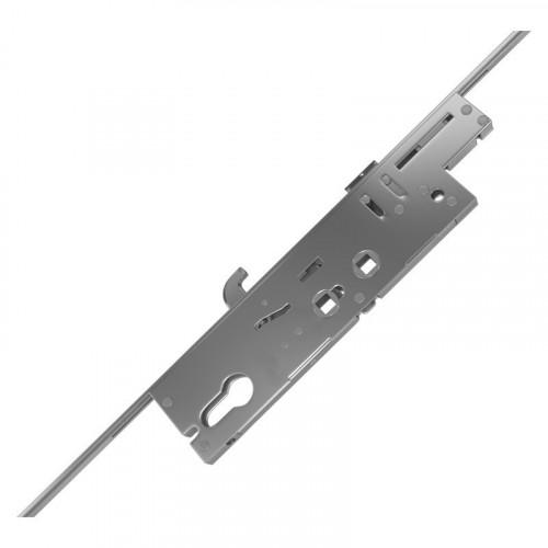 XL Crimebeater Lock - Dual Spindle | 45mm Backset | 243mm Backplate | 3 Hooks (Opposing)