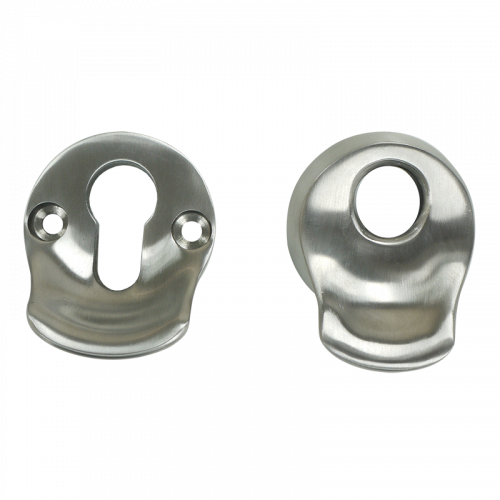 High Security Escutcheon with Pull SS316 Satin Stainless Steel Nanocoast