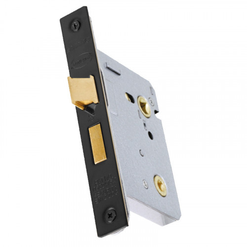 CLASSIC 51.07 65 MM BLACK BATHROOM LOCK