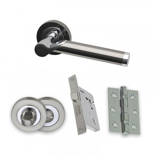 ENTERPRISE PCP/BLK -  BATHROOM DOOR PACK