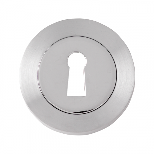 51 MM DIA SATIN CHROME STD ESCUTCHEON