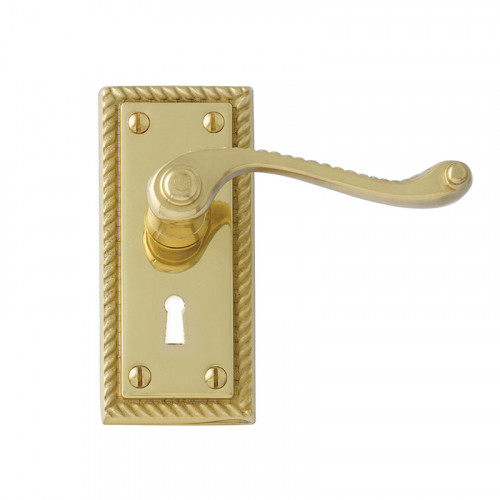 GEORGIAN PB LEVER LOCK FURNITURE