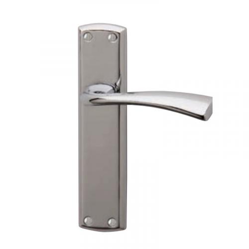 GROSVENOR Bathroom Lock Handle - Chrome Plate