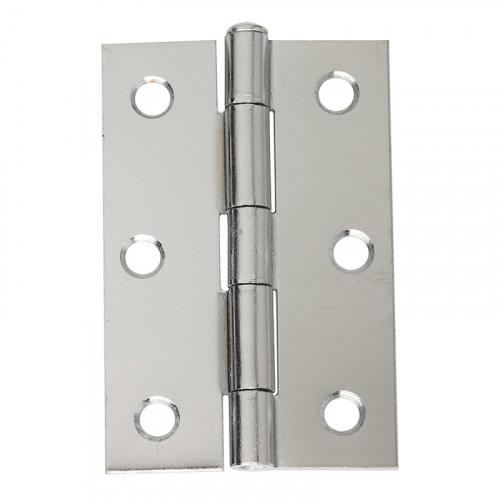 75 MM CHROME PLATED LOOSE PIN BUTT HINGE