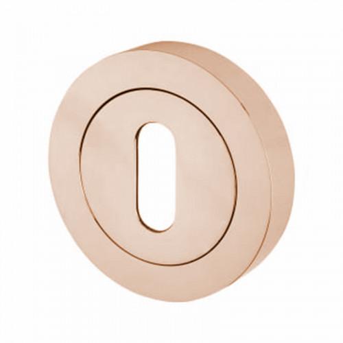 15E ROSE GOLD SQ STD KEY ESCUTCHEON 24K