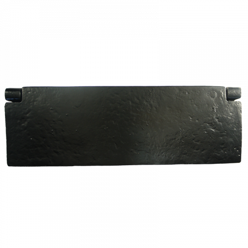 Black Iron Internal Letterplate Tidy Plain