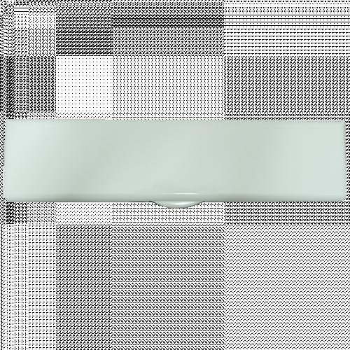 White Powder Coat on Aluminium Frame iPlate