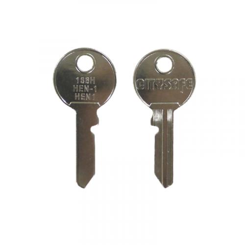 Keyblank - HD Ref = 136H - Silca Ref = HEN1 - JMA Ref = HEN-1