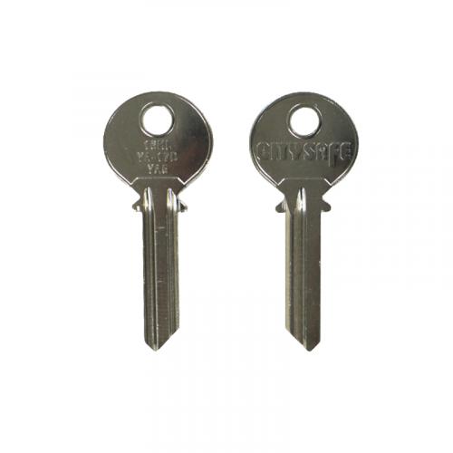 Keyblank - HD Ref = 16HL - Silca Ref = YA5 - JMA Ref = YA-17D