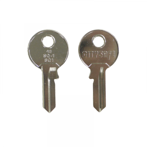 Keyblank - HD Ref = 43 - Silca Ref = SQ1 - JMA Ref = SQ-1