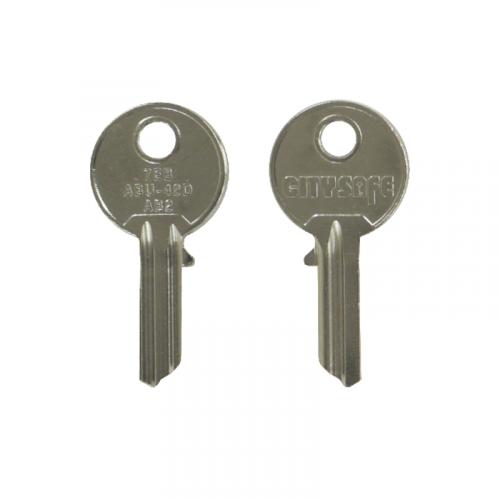 Keyblank - HD Ref = 7EB - Silca Ref = AB2 - JMA Ref = ABU-42D