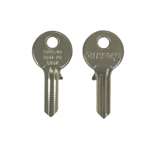 Keyblank - HD Ref = AB6540 - Silca Ref = AB52 - JMA Ref = ABU-20