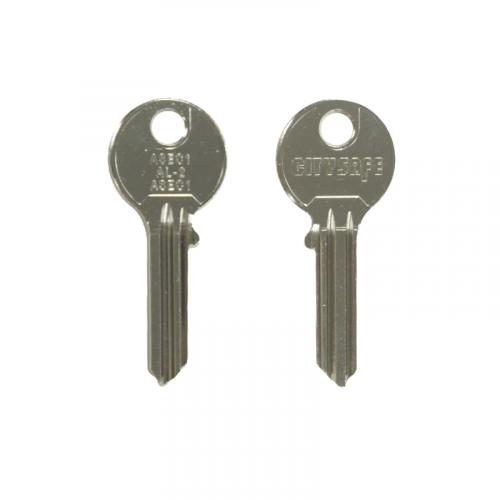 Keyblank - HD Ref = ASEC1 - Silca Ref = ASEC1 - JMA Ref = AL-2