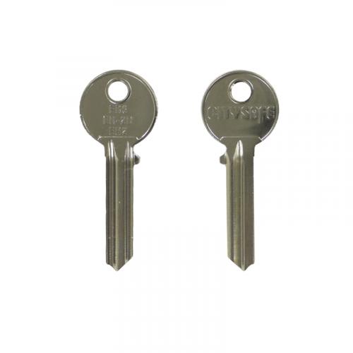 Keyblank - HD Ref = ER6 - Silca Ref = ER2 - JMA Ref = ER-2D