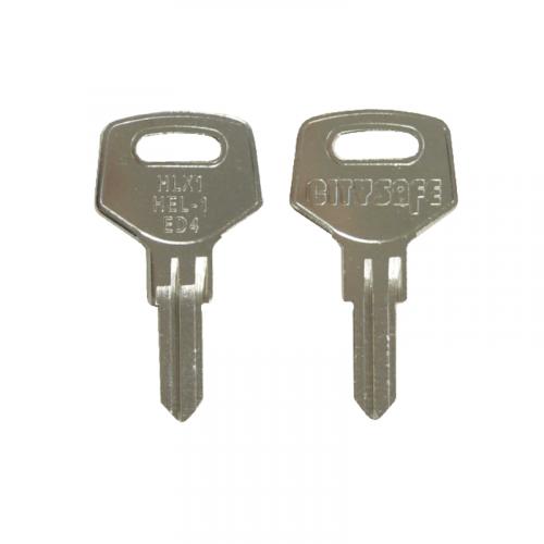 Keyblank - HD Ref = HLX1 - Silca Ref = ED4 - JMA Ref = HEL-1