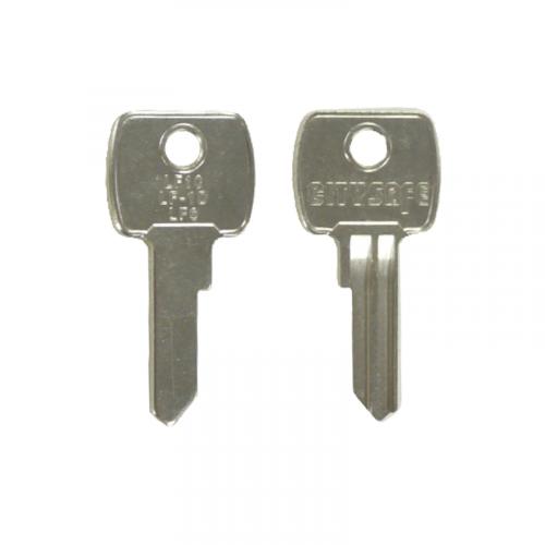 Keyblank - HD Ref = LF10 - Silca Ref = LF6 - JMA Ref = LF-1D