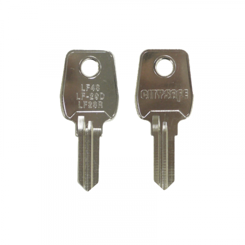 Keyblank - HD Ref = LF43 - Silca Ref = LF23R - JMA Ref = LF-29D