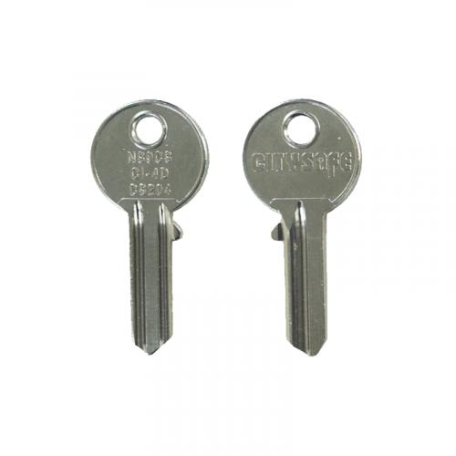 Keyblank - HD Ref = NS9CS - Silca Ref = CS204 - JMA Ref = CI-4D