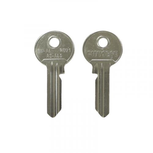 Keyblank - HD Ref = RU-AL - Silca Ref = RU21 - JMA Ref = AS-AL5