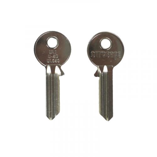 Keyblank - HD Ref = UL1 - Silca Ref = UL050 - JMA Ref = U-5D