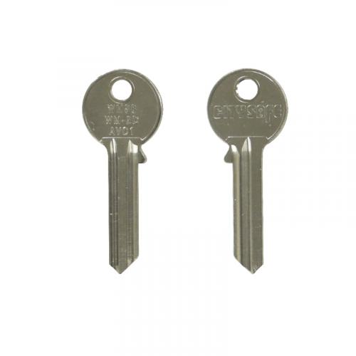 Keyblank - HD Ref = WM58 - Silca Ref = AVC1 - JMA Ref = WM-2D