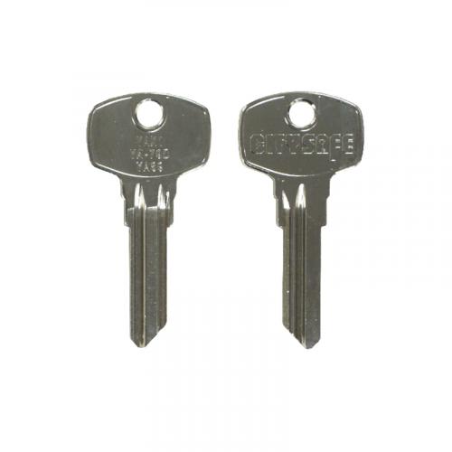 Keyblank - HD Ref = YAX1 - Silca Ref = YA89 - JMA Ref = YA-79D