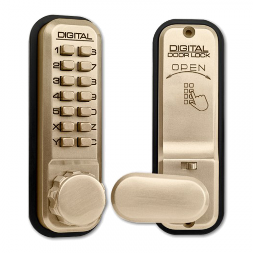 LOCKEY DIGITAL LOCK H/B Brass