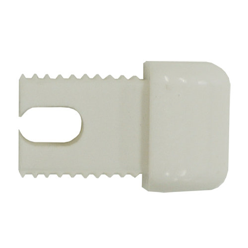 16mm White End Plug for Patio Lock