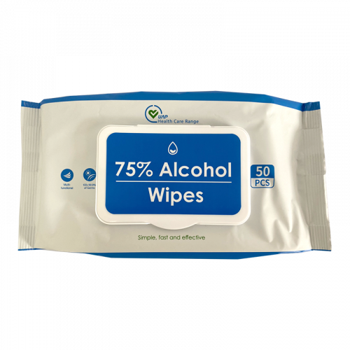 PPE-ALCOHOLWIPES-50 PIECES