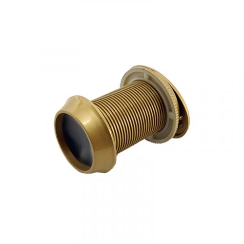 Secure-To-View Door Viewer in Gold
