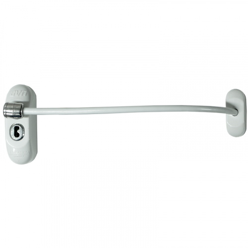 Max6mum Security Window Restrictor - White - Bulk